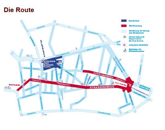 Die Route KKW15